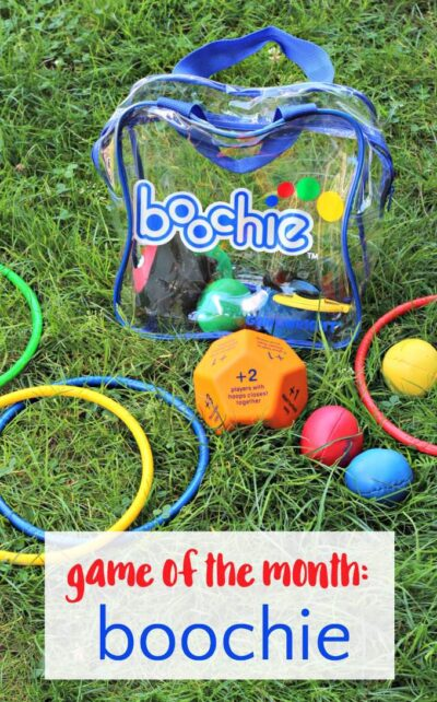 Boochie is a fun outdoor game for kids and families