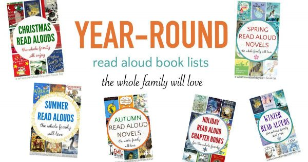 Year-round books to read together as a family.