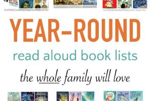 Family Read Aloud Books for Every Season