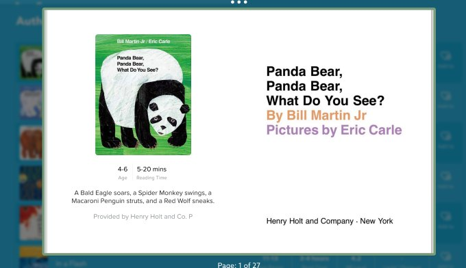 Brown Bear on Epic App