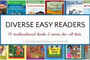 Diverse easy readers and multicultural books for beginning readers.