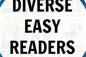 A list of quality diverse easy readers for young kids.