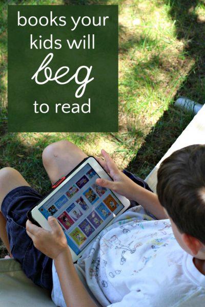 Reading kids ebooks has never been easier