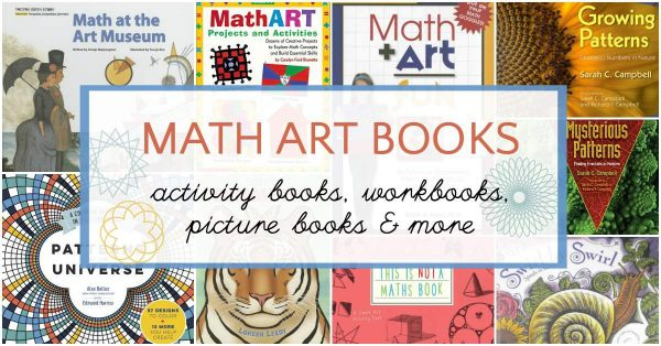 Wondrous math art books to share with children.