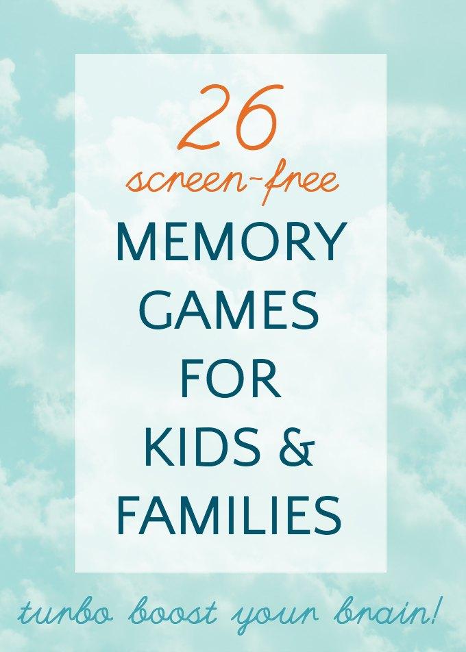 memory games new