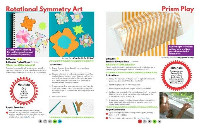 STEAM KIDS book page