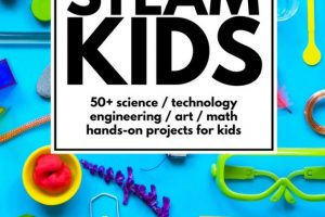 One Whole Year of Splendid STEAM Projects for Kids