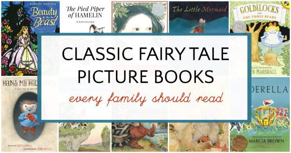 Books list of classic fairy tales for children to read