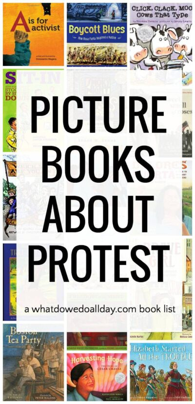 Picture books about protest