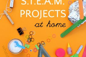 You Already Have these 40 Items to Do STEAM Projects at Home
