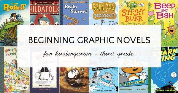 Graphic novels for beginning readers