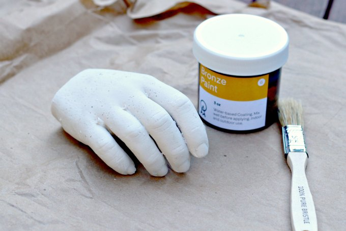 Hand cast ready to paint for family creative time
