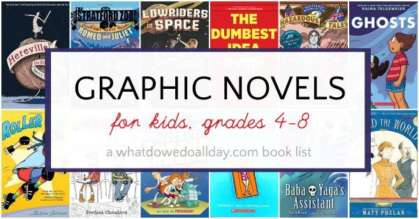 graphic novels that kids will love
