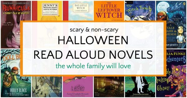 Halloween novels for kids