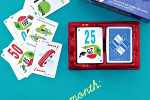 Mille Bornes racing card car game