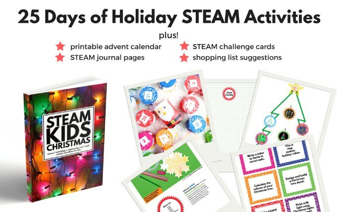 25 Days of Holiday STEAM book