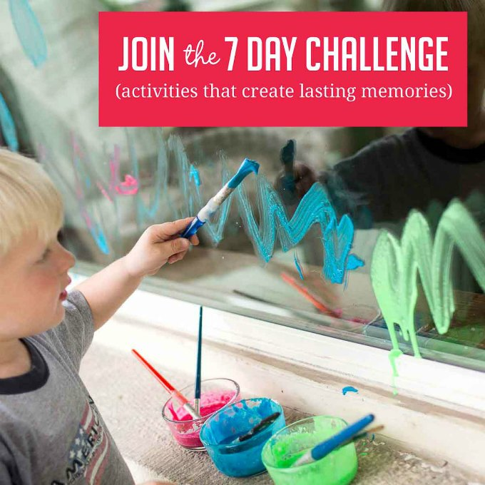 Activities for kids - time saving challenge