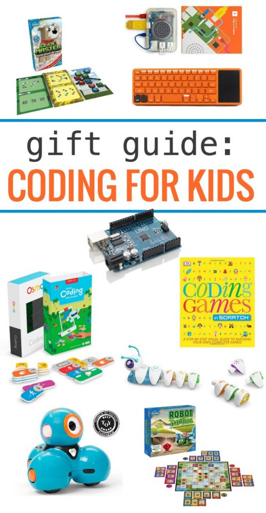 Coding gift guide for kids. Learn coding skills through play.
