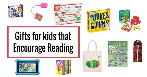 Support literacy and give gifts that encourage kids to read.