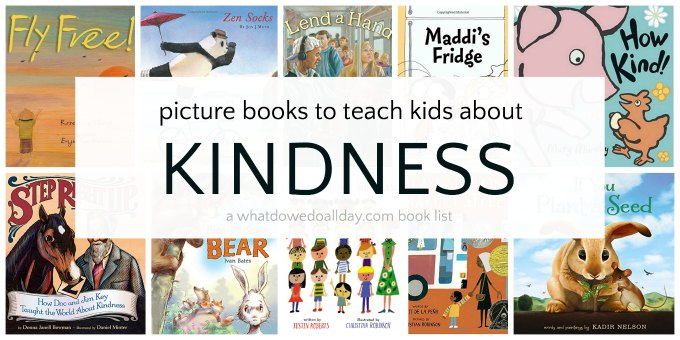 Books that teach kindness