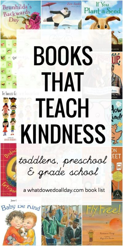 Books about kindness for kids.
