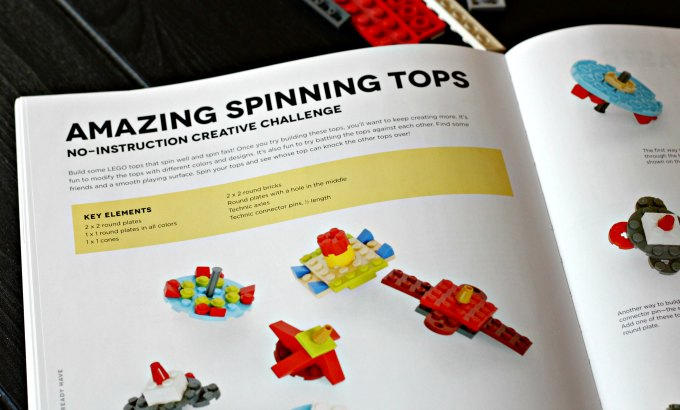 Page from LEGO book