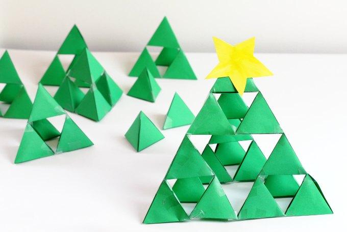 Christmas tree fractal.