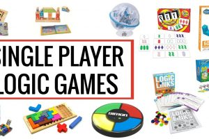 Fantastic single player logic games kids will love.