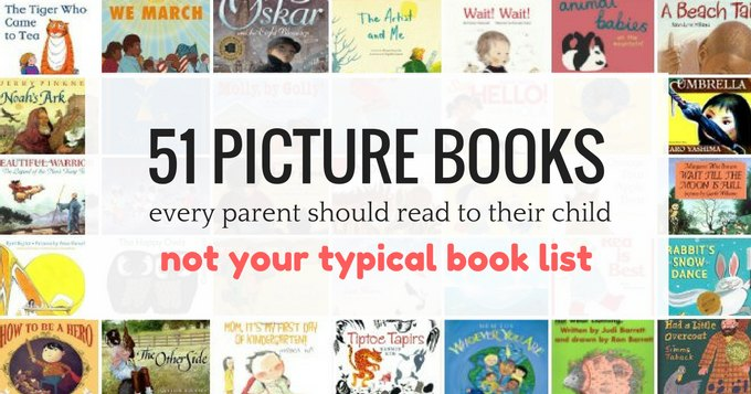 Best picture books to read to your kids.
