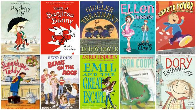 Best chapter books for ages 5 and up