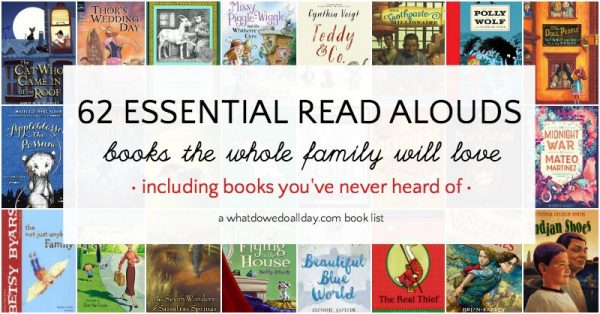 The best chapter books to read aloud to kids.