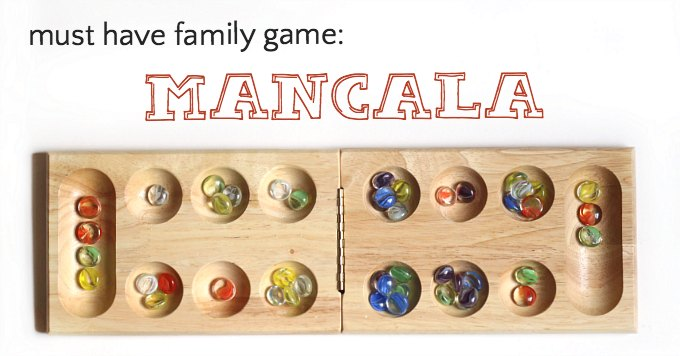 Classic Mancala game is a transfer game from Africa.
