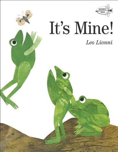 It's mine book cover showing three frogs