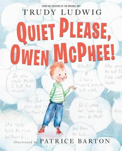 Quiet Please Owen McPhee book cover