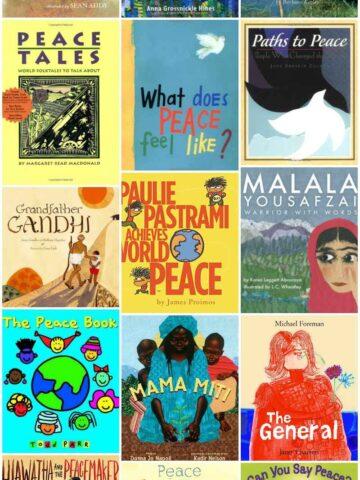 Children's peace books