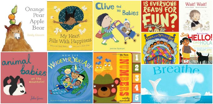 Picture books for babies and toddlers