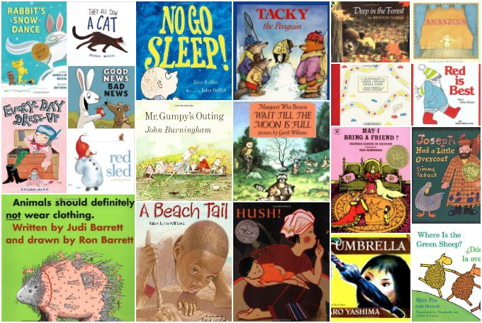 Best picture books for 3 year olds and up