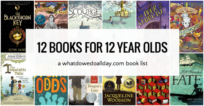 12 Cant Put Down Books For 12 Year Olds