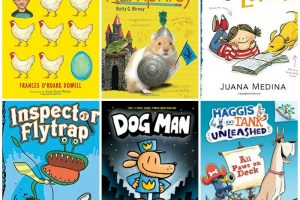list of book that 7 year olds will like to read