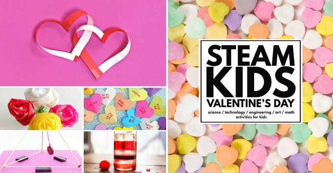 Valentine science experiments