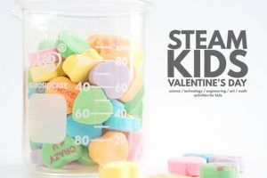 Valentine's Day STEAM Projects for Kids