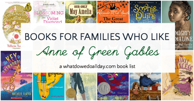Books like Anne of Green Gables for children