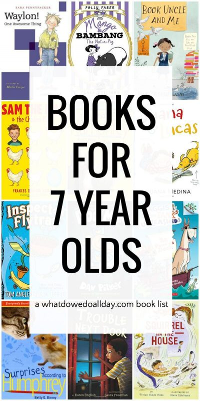 Fantastic Books for 7 Year Olds to Devour
