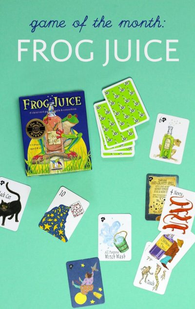 How to play Frog Juice game by Gamewright