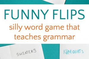 Funny Flips: A Word Game for Kids