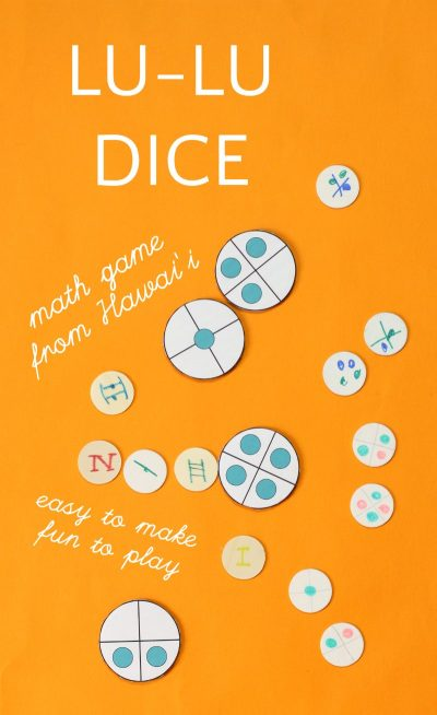 Lulu dice game to teach math and probability