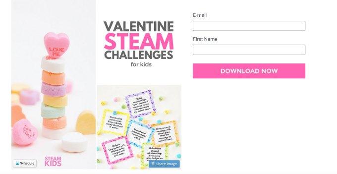steam valentine email sign up