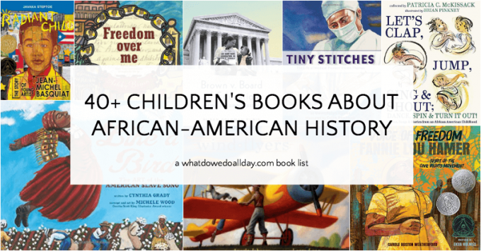Children's books about African-American History