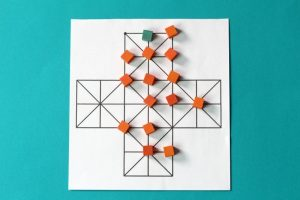 Fox and Geese: A Traditional Abstract Strategy Game