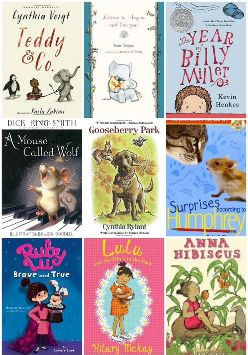 25 gentle chapter books to read aloud to kids